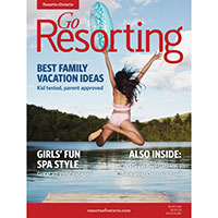 Get a FREE sample of Go Resorting Magazine