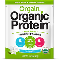 Get a FREE sample of Organic Plant Based Protein Powder by Orgain