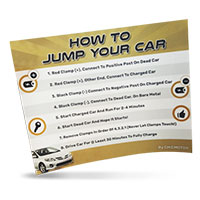 "Get a Free ""How to jump your car battery"" sticker by Chicmoto"
