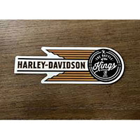 Get an exclusive Harley-Davidson Battle of the Kings sticker
