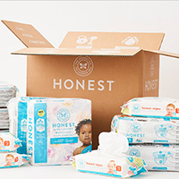 Get your FREE Honest Diapers & Wipes Bundle