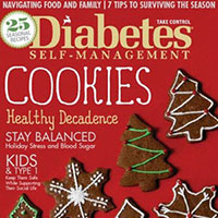 Get your complimentary one year subscription to Diabetes Self-Management Magazine