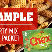 Get your free Chex™ Party Mix seasoning packet