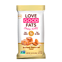 Grab A FREE Sample Of Love Good Fats Salted Caramel Bar At FreeOsk