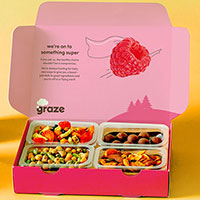 Grab a FREE Graze Snack Box