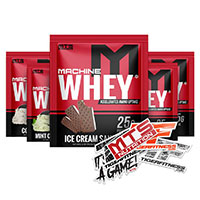 Machine Whey Protein 5 Sample Starter Kit by MTS Nutrition