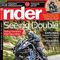 Obtain Your FREE Subscription to Rider Magazine