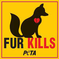 "Order Free Stickers ""Fur is Dead"" by PETA Org Today"