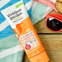 Order Goddess Garden Kids Spf 50 Mineral Sunscreen For Free