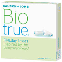 Order a FREE trial of BioTrue® ONEday Lenses by BAUSCH + LOMB®