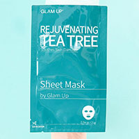 Order your Free Glam Up Tea Tree Sheet Mask