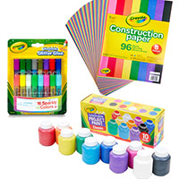 Participate in the Crayola Crafting Party