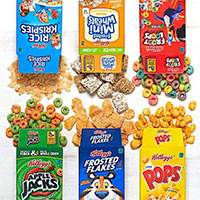 Get a FREE Kellogg's, Pop-Tarts, Rice Krispie Treats, Pure OR Special K sample