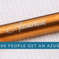 Receive Your FREE Azunia Reusable Metal Straw