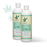 Receive Your FREE CannaLove™ Puppy Shampoo Sample