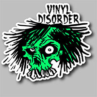 Receive Your FREE Vinyl Disorder Stickers Sample Pack