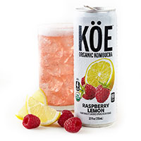 Receive Your Free Can of KÖE Organic Kombucha