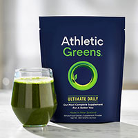 Join Mons Meet And Receive a Free Athletic Greens Ultimate Daily Sample