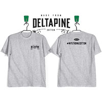 Receive a T-shirt made from Deltapine Select™ cotton for FREE