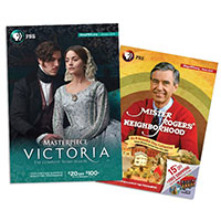 Receive a complimentary issue of a next PBS catalog