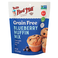 Request A Free Sample Of A Grain Free Blueberry Muffin Mix