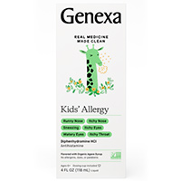 Request A Free Sample Of Genexa Kids' Allergy Medicine