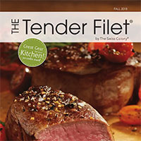 Request A Print Copy of Tender Filet Catalog