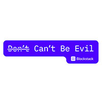 Request FREE Don't/can't be evil stickers