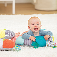 Request Free Infantino 2-In-1 Tummy Time & Seated Support
