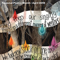 Request Your FREE National Poetry Month Calendar