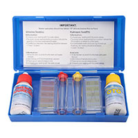 Request Your FREE Pool Test Kit (Chlorine and PH Strips)