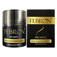 Request Your FREE Sample of Febron Hair Building Fibers