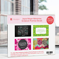 Request Your FREE Scripture Promise Decals from Joyce Meyer
