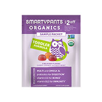 Request Your FREE SmartyPants Vitamins Organic Toddler Formula Sample