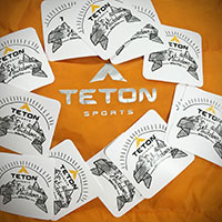 Request Your FREE TETON Sports Sticker