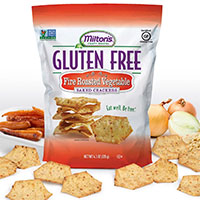 Request Your FREE sample of Milton's Gluten Free Crackers