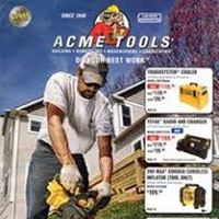 Request a FREE Catalog by Acme Tools
