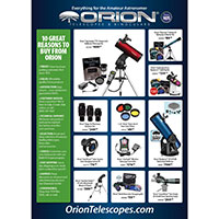 Request a FREE Catalog by Orion Telescopes & Binoculars