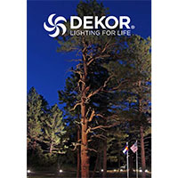 Request a FREE Copy of Dekor Lighting Catalog