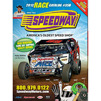 Request a FREE Print Copy of Speedway Motors Catalog