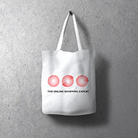 Request a White Recycled Organic Cotton Tote Bag