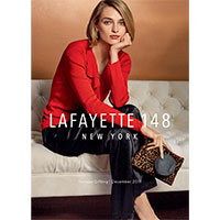 Request a complimentary style book by Lafayette 148 NY