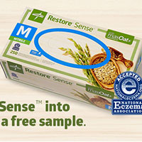 Request a free sample of Restore® Sense™ Gloves
