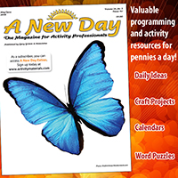 Request a sample issue of A New Day magazine