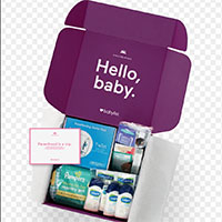 Request your FREE Hello Baby Box by Babylist