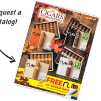 Request your FREE Print Copy of the Cigars International Catalog
