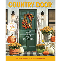 Request your FREE Print Samples of Country Door Catalog