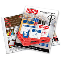 Request your FREE print sample of Uline Catalog