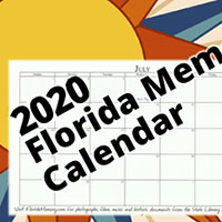Request your FREE sample of 2020 Florida Memory Calendar