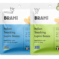 Request your FREE sample of Brami Snacks